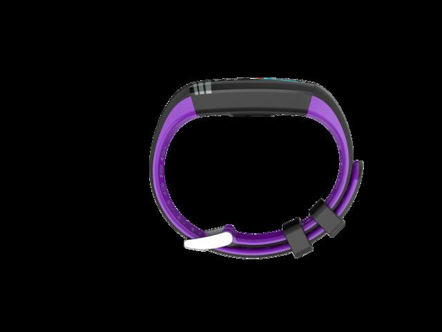 JYOUpro G26S Smart Bracelet Heart Rate Blood Pressure Blood Oxygen Sleep  Detection Information Push Climbing Step Sports Pattern Color Screen  -Purple