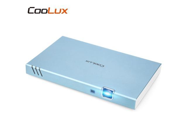 COOLUX X6S Portable Smart Projector 280 ANSI 1280 x 720P Support 1080P -  Newegg com