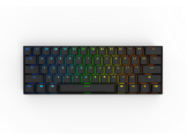 anne pro 2 mechanical keyboard 60 rgb wired wireless bluetooth 4 0 pbt type c blue switch. Black Bedroom Furniture Sets. Home Design Ideas