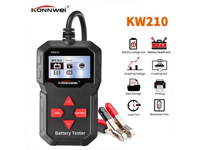 Monitor 2 Year Warranty Digital Battery and Alternator Analyzer Tester