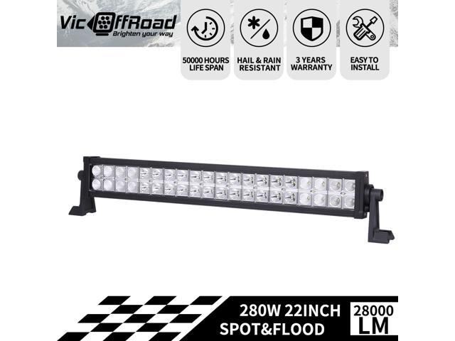 22INCH 280W LED WORK LIGHT BAR FOR SPOT/&FLOOD COMBO 4X4WD BOAT FORD ATV