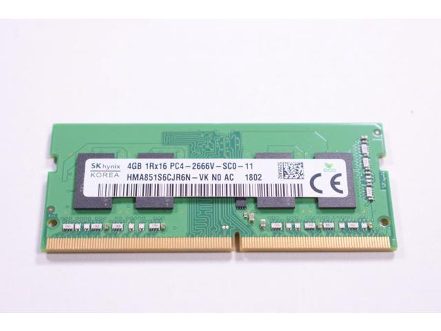 SK HYNIX 4Gb DDR4 RAM SODIMM 1Rx16 PC4-2666V MEMORY LAPTOP HMA851S6JJR6N-VK