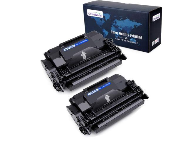 OfficeWorld Toner Cartridge for HP 26X Compatible Toner Cartridge  Replacement for HP 26X CF226X (Black, 2-Packs), Work with Laserjet Pro MFP  M426fdw