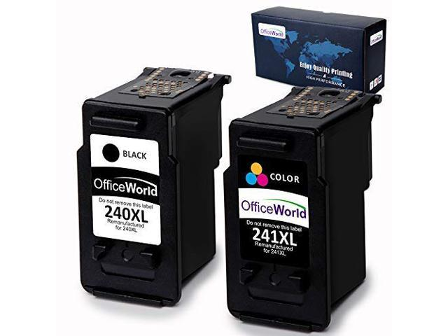 2 Pk Canon PG-240XL CL-241XL Ink Cartridge PIXMA MG3120 MG3520 MX392 MX459 MX532