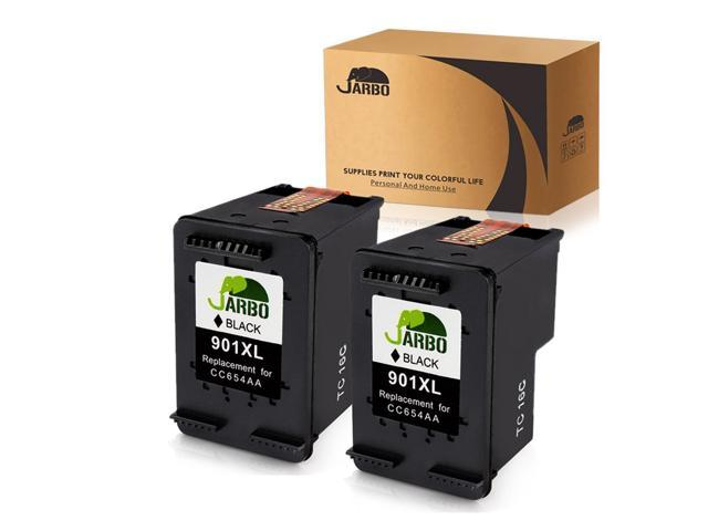 2PK 901XL Black//Color Ink Cartridge For HP 901 Officejet J4640 J4660 J4680 4500