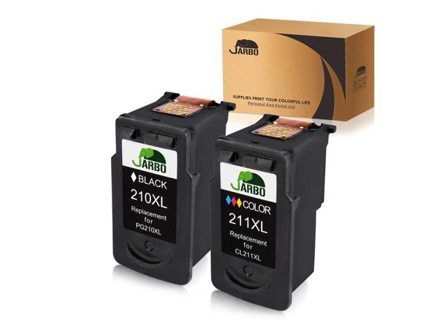 2 PK PG 210XL CL 211XL Ink For Canon PIXMA MP480 MP490 MP495 MP499 MX410 MX420