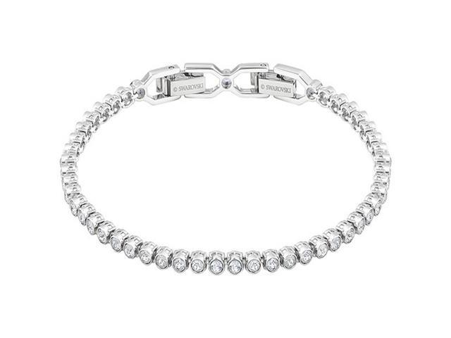 d19fd9541 SWAROVSKI Swarovski EMILY bracelet, white, rhodium 1808960 ...