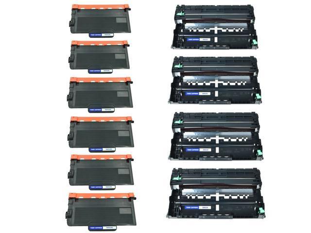 3x TN850 Toner+2x DR820 Drum For Brother MFC-L5700DW HL-L5200DW L6250DW L6400DWT