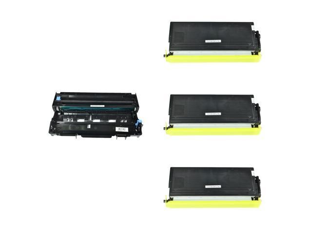 5PK DR400 Drum Unit TN460 Toner Cartridge for Brother Intellifax 4100 4100e 4750