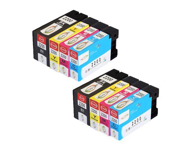 8 PK PGI-2200XL PGI2200 XL Ink Cartridge For Canon MAXIFY IB4020 MB5020 Printer