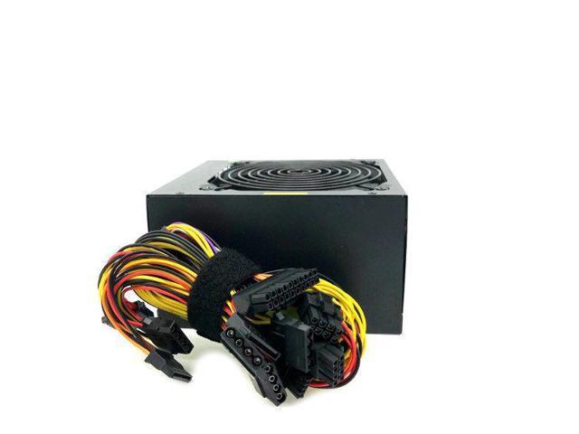 NEW 700W 700 Watt LARGE Fan Quiet Grill ATX Power Supply 12V PCI-E SATA PSU