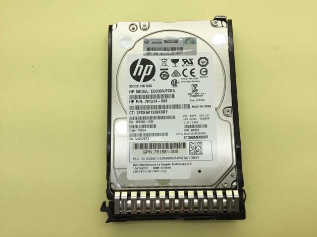 "HP 785410-001 300GB 12G 10K SAS 2.5/"" SC HDD Hard Drive 785067-B21"