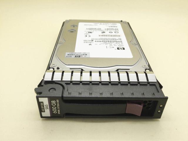 Certified Refurbished 517354-001 HP 600-GB 6G 15K 3.5 DP SAS 2 Pack