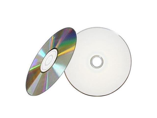 image about Printable Cd Sleeves referred to as 5 Areas 52X Blank White Inkjet HUB Printable CD-R CDR Disc with Paper Sleeves -
