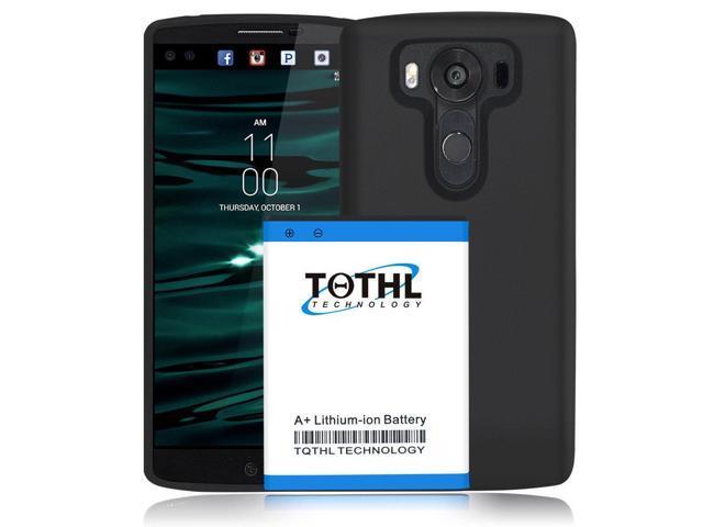 brand new eea56 990f3 For LG V10 H901 T-Mobile High Quality 6800mAh Battery +TPU Case Cell Phone  - Newegg.com