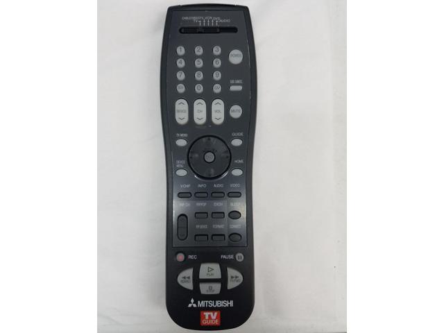 New Original Mitsubishi WD73727 WD73827 WD73927 TV Remote Control