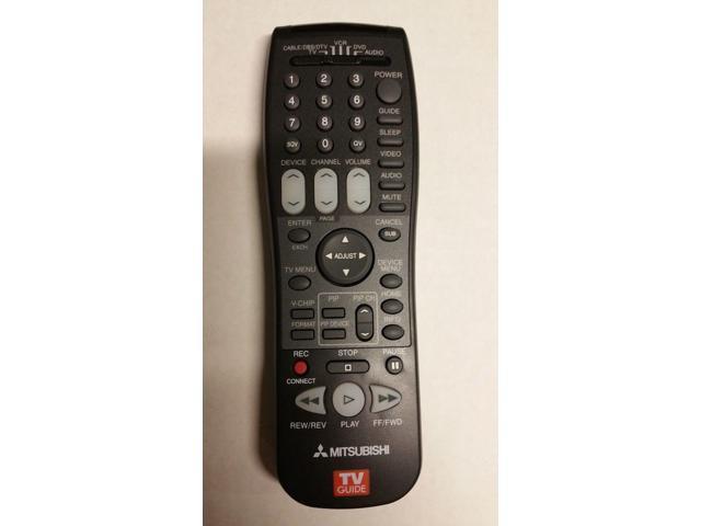 VS60607 TV Remote Control VS60603 VS60601 New Original Mitsubishi VS60111