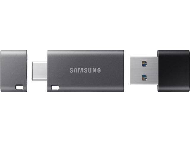 Samsung 64GB DUO Plus USB 3.1 Flash Drive, Speed Up to 200MB/s (MUF-64DB/AM)