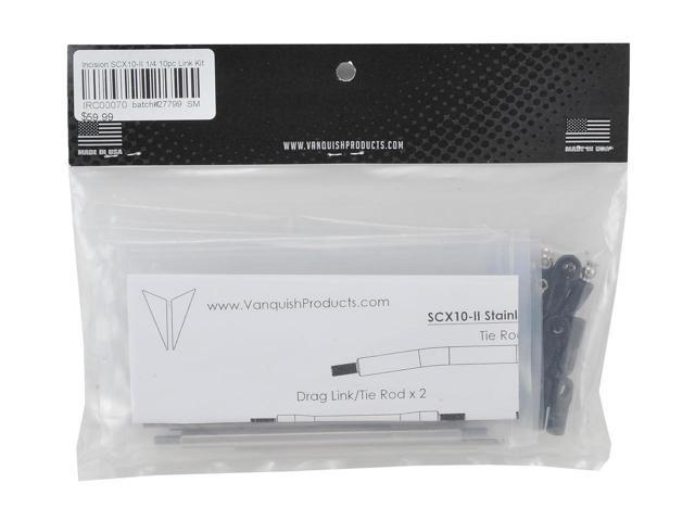 """10 INCIRC00070 Incision SCX10 II 1//4/"""" Stainless Steel Link Kit"""