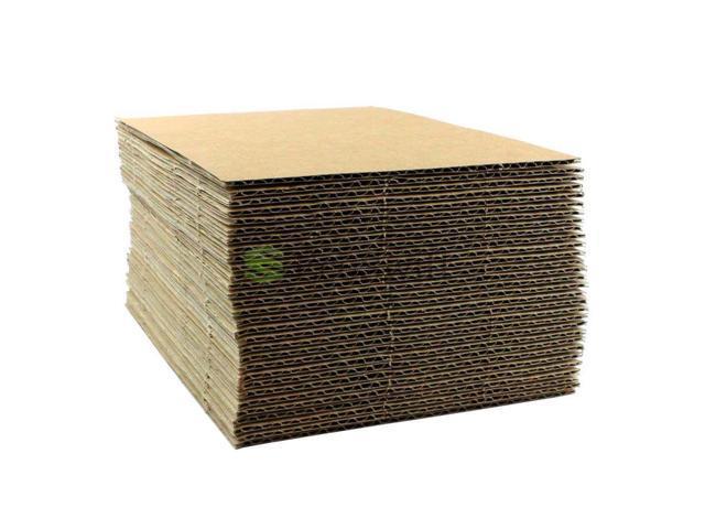 EcoSwift 5x7 Corrugated Cardboard Filler Insert Sheet Pads 1//8 Thick 5 x 7