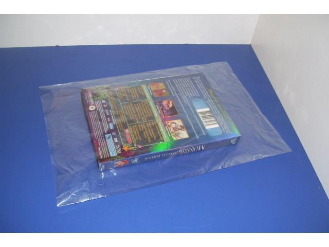 200 CLEAR 8 x 14 POLY BAGS PLASTIC LAY FLAT OPEN TOP PACKING ULINE BEST 2 MIL