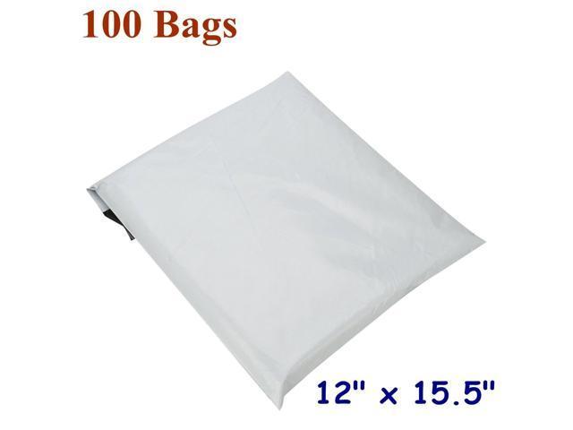 "100 PCS 12/"" x 15.5/"" Poly Mailers 2.5 Mil Shipping Envelopes Self Sealing Bags"