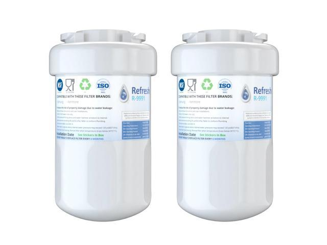 Fits GE GSH25JSXB Refrigerators Refresh Replacement Water Filter 2 Pack