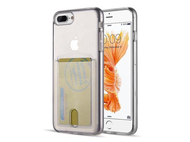 info for 1ff10 86cb7 For iPhone 8 Plus - Id Card Display TPU Crystal Skin Case - Clear -  Newegg.com