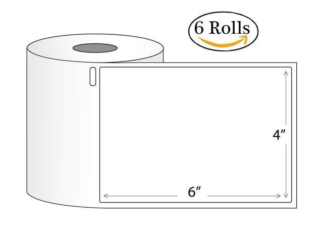 6 Rolls DYMO 4XL Direct Thermal Shipping Labels 4x6 1744907 Compatible  220/Roll - Newegg com