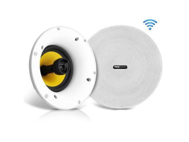 Pyle Home In Ceiling Speakers W Built In Bluetooth Wifi Wireless Music Streaming Newegg Com