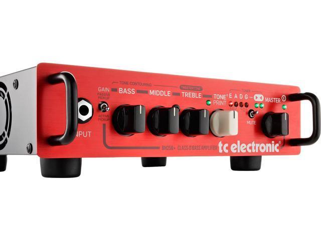 TC Electronic BH250 250-Watt Bass Guitar Amplifier Head with USB Port -  Newegg com
