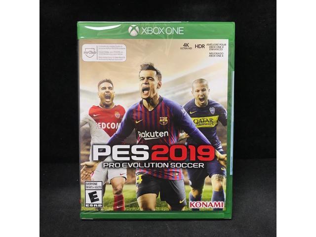 PES 2019 Pro Evolution Soccer 2019 (Xbox One) New/ Region Free - Newegg com