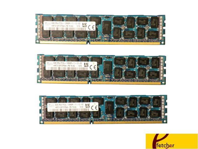 3x8GB DDR3 PC3L-10600R ECC Reg Server Memory RAM Dell PowerEdge T320 24GB