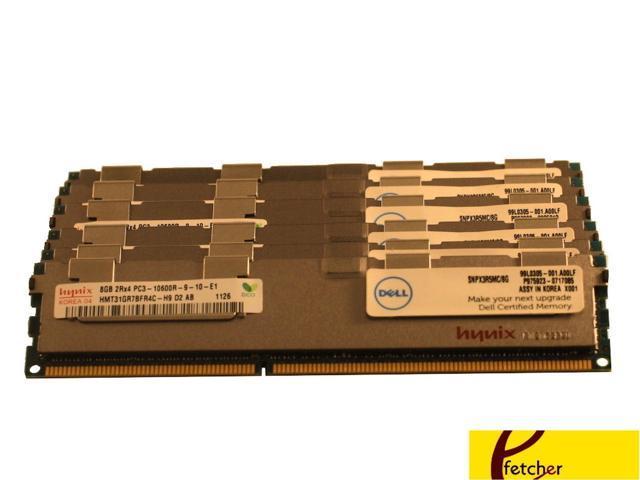 8GB DELL POWEREDGE T410 T610 R610 R710 R715 R810 R720xd Memory Ram