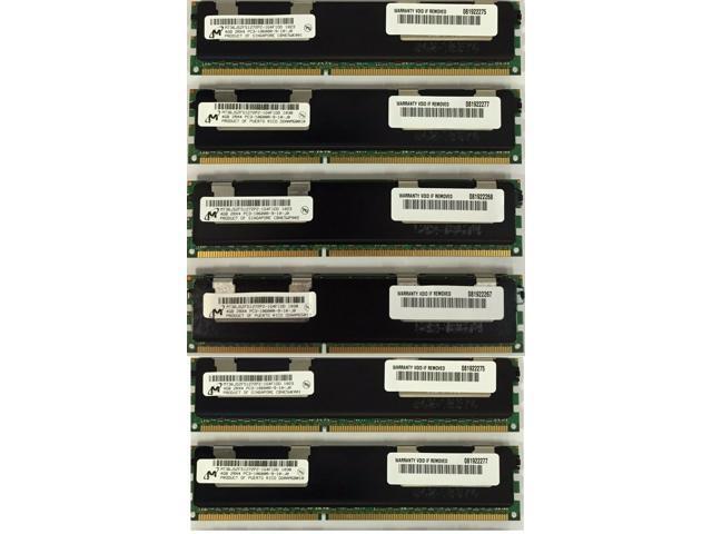 24GB (6X4GB) MEMORY FOR HP PROLIANT DL380 G7 DL980 G7 ML330 G6 ML350 G6  ML370 G6 - Newegg com
