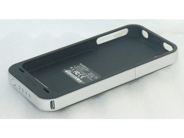 big sale 08f31 bf044 Refurbished: Mophie Juice Pack Air BLACK Case 4 Apple iPhone 4 4S Charger  Battery Back Cover - Newegg.com
