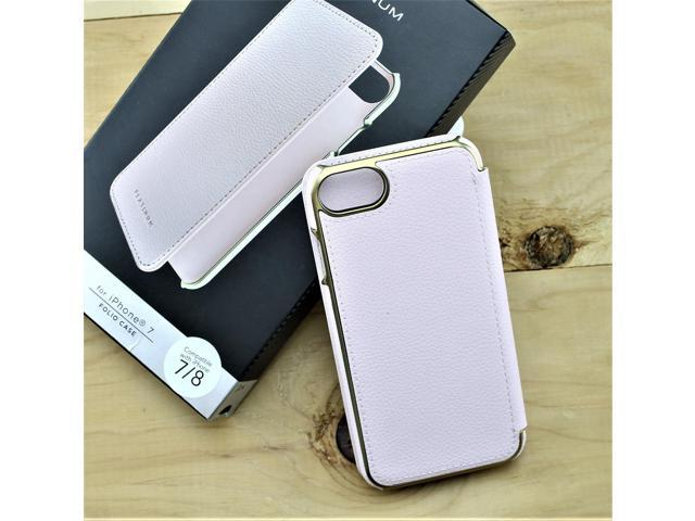 new product 53444 551a4 Refurbished: Platinum - Protective Leather Folio Wallet Case for iPhone 7 /  iPhone 8 -Pink - Newegg.com