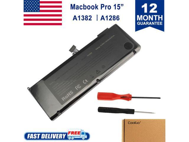 Battery for Apple Macbook Pro 15 4'' A1286 (Early 2011 Mid 2012) 15