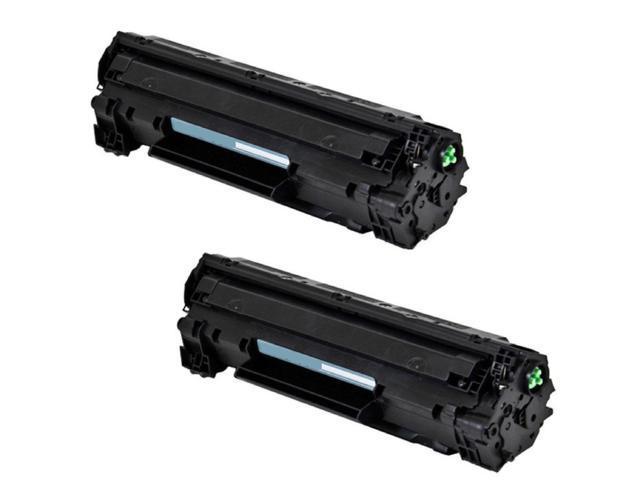 2 PK New Generic Black Laser Toner Cartridge CE278A 78A For HP Laserjet M1536dnf