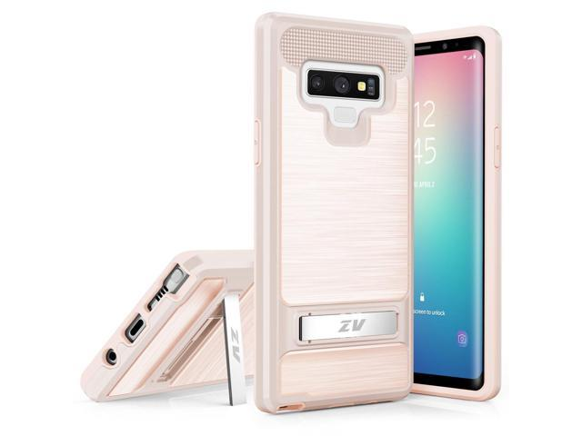 new arrival 4709e 12645 Samsung Galaxy Note 9 - Case with Stand and UV Coated & TPU Layers - Rose  Gold - Newegg.com