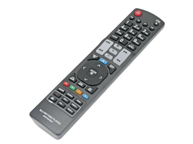 New Remote Control AKB72975301 Replace for LG Blu-ray Player BX580 BD570  BD550 - Newegg com