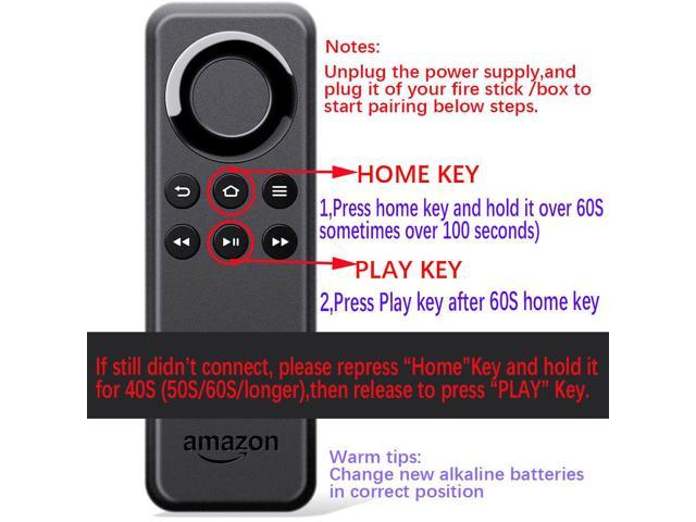 Replacement for Amazon Fire Stick Remote Control /Fire TV Player for 1st  2nd Gen - Newegg com