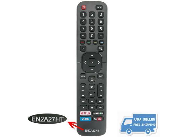 New EN2A27HT Replaced TV Remote Control for Hisense 50H7050D 55EU6070  65EU6070 - Newegg com