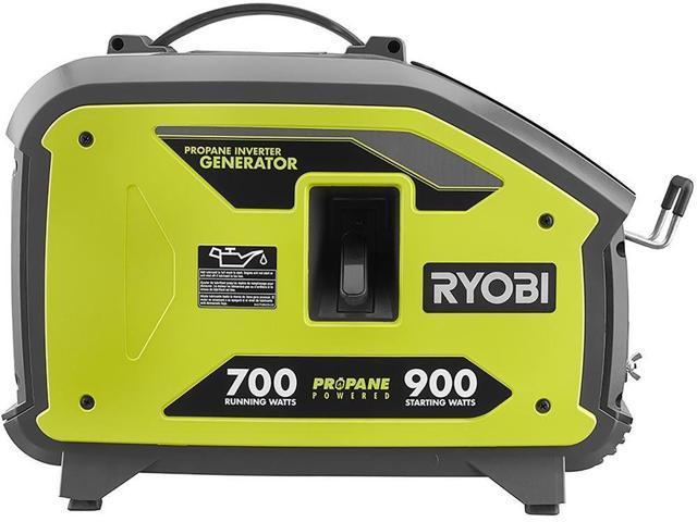 Ryobi Powered Inverter Generator 900-Watt Propane Clean Power Auto Idle  Feature - Newegg com