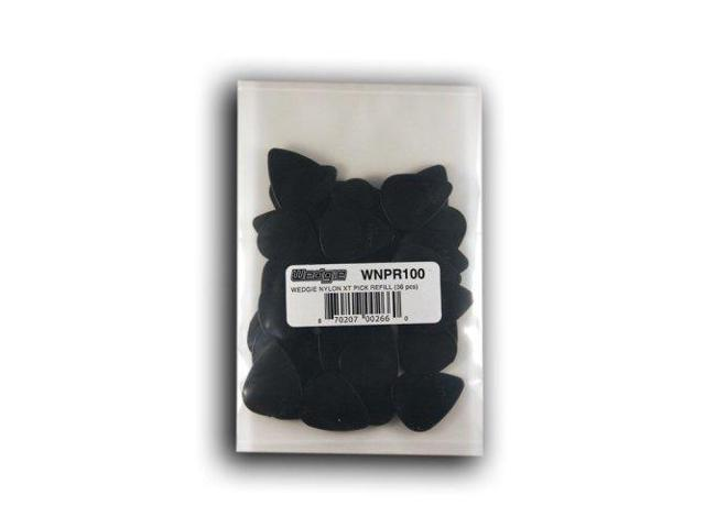 Wedgy Gaming Chair: Wedgie WNPR100 Nylon Pick Cabinet 1.00mm 36 Pcs (black