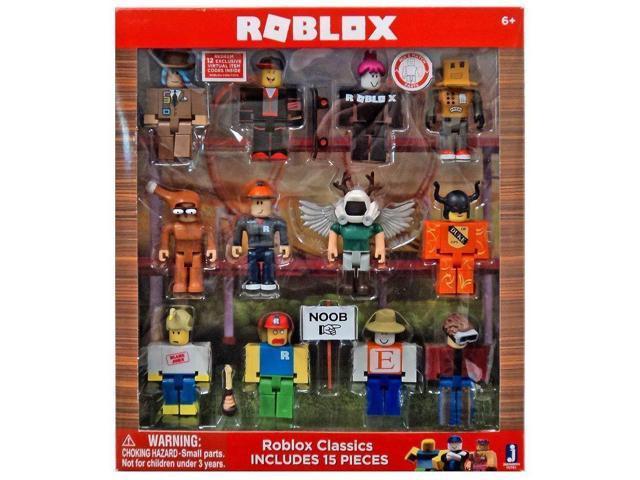 Roblox Series 1 Classics 12 figure pack -- includes: builderman, chicken     - Newegg com
