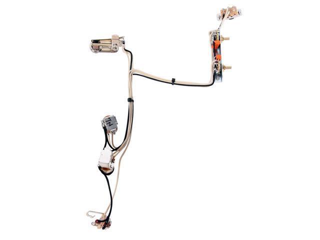 920d fender jazzmaster guitar wiring harness w  2 push-pull pots  u0026 kill switch