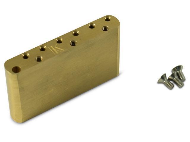 Genuine Kluson Milled Brass Lefty Vintage Strat Sustain Tremolo Block -  KVSBB LH - Newegg com