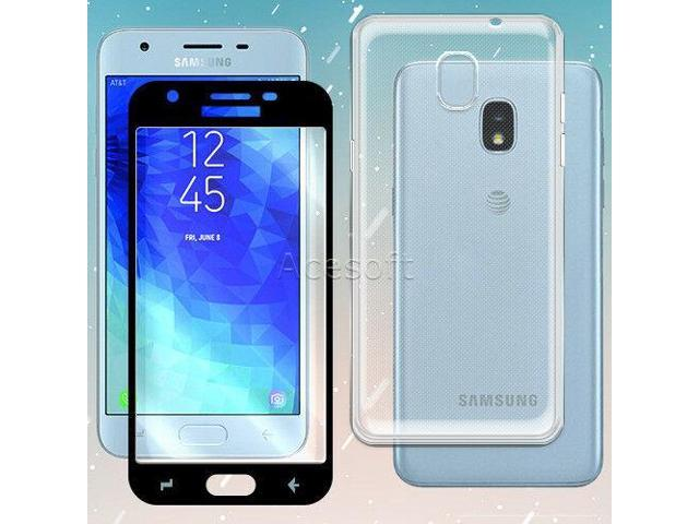 HD Tempered Glass Screen Protector TPU Case for Samsung Galaxy J3 Orbit  S367VL - Newegg com