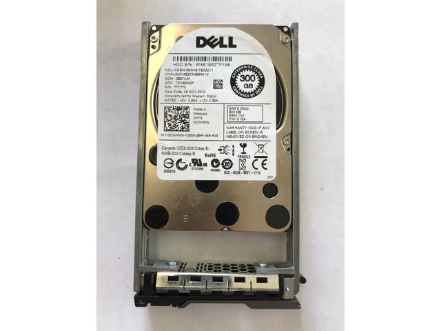 """Dell CWHNN 300GB 10K SAS 2.5/"""" 6Gbps Hard Drive 0CWHNN Western Digital WD3001BKHG"""